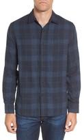 Grayers Men's Helsby Double Cloth Plaid Sport Shirt
