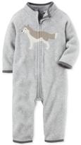Carter's Fleece Wolf Coverall, Baby Boys (0-24 months)