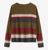 Toast Stripe Gauzy Knit Sweater