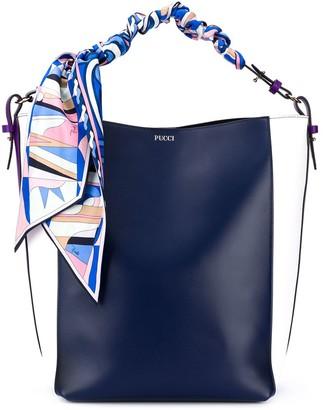 Emilio Pucci Scarf-Detail Tote Bag