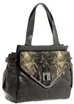 BCBGeneration Charlie CGM014GN Charcoal Large Satchel Handbag
