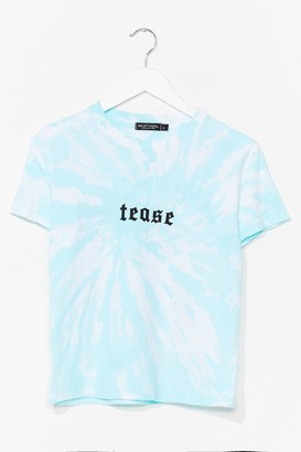 Nasty Gal Womens Tease Graphic Tee - Green - S, Green
