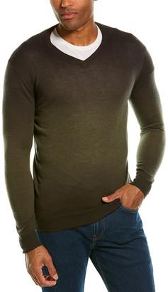 Forte Cashmere Fine Gauge Cashmere V-Neck Sweater