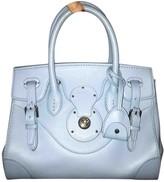 Ralph Lauren Turquoise Leather Handbags