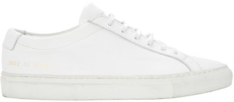 Common Projects Achilles White Leather Sneakers