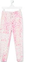 Roberto Cavalli teen animal print trousers - kids - Cotton/Spandex/Elastane - 14 yrs