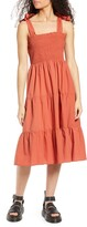 Thumbnail for your product : Only Maggie Tie Strap Tiered Sundress