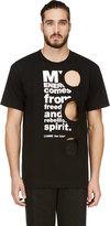 Comme des Garcons Black Cut-Out Energy T-shirt