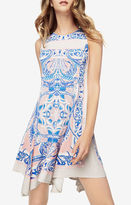 BCBGMAXAZRIA Mercey Paisley-Print Dress