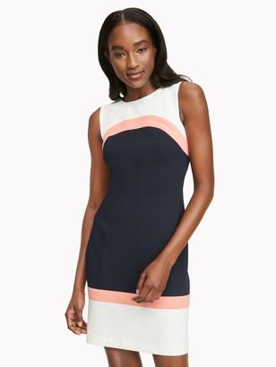 Tommy Hilfiger Essential Ponte Colorblock Dress