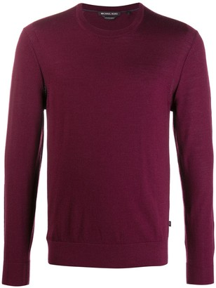Michael Kors Crew Neck Fitted Jumper