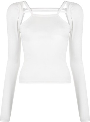 Dion Lee Rib Holster LS top