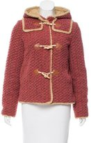 Anna Sui Hooded Short Coat