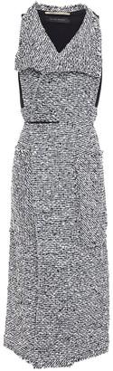 Roland Mouret Lodge Frayed Boucle Vest