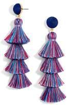 BaubleBar Women's Gabriela Tassel Fringe Earrings