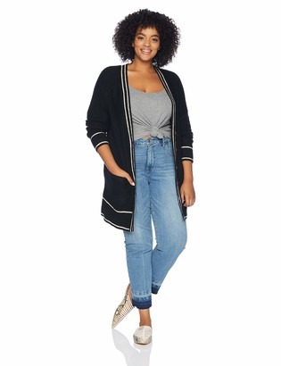 Lucky Brand Women's Plus Size Button Front Cardigan Sweater