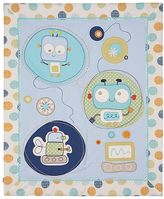 Living Textiles Baby Bot All Seasons Cot Quilt
