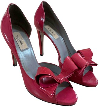 Valentino Pink Patent leather Heels