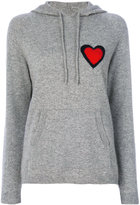Chinti and Parker cashmere heart burst hoodie - women - Cashmere - XS