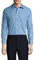 Brooks Brothers Checkered Spread Collar Dress Shirt
