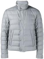 Moncler Gamme Bleu quilted wool jacket - men - Feather Down/Polyamide/Wool - 2