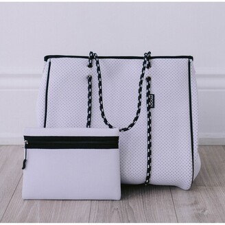 Bag And Bougie White Bougie Tote (Non Zip)