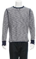 Officine Generale Mélange Crew Neck Sweatshirt
