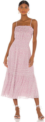 Rebecca Taylor Sleeveless Star Smock Dress