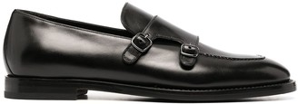 Silvano Sassetti Crossover Buckle Detail Loafers