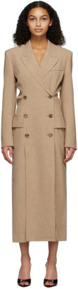 Nanushka Beige Ellen Blazer Dress