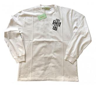 Aries White Cotton T-shirts