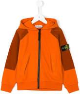 Stone Island Junior hooded bomber jacket
