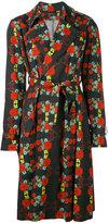 Area Di Barbara Bologna - floral pattern trench coat - women - Cotton - 40
