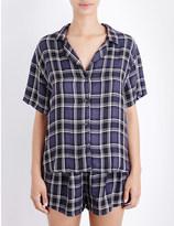 Rails Hunter checked pyjama set