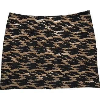 Polder Black Cotton Skirt for Women