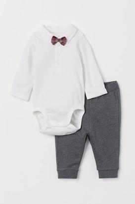 H&M Dressy Cotton Set