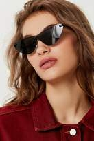 Urban Outfitters Galaxy Monocut Cat-Eye Sunglasses