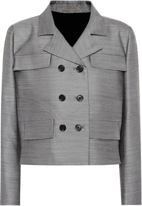 Bottega Veneta Wool and silk jacket