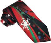 Asstd National Brand Hallmark Fantasy Snowflake Tie - Extra Long