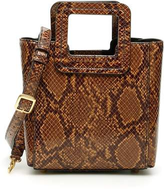 STAUD Python-print Shirley Mini Bag
