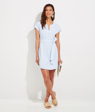 Vineyard Vines Vineyard Seersucker Harbor Tunic Dress
