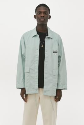 adidas VCL LT Green Nylon Track Top - Green M at Urban Outfitters