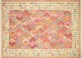 Nalbandian 9'6x6'8 Manhit Flat-Weave Rug, Yellow