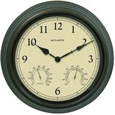 AcuRite 15 in. Combination Thermometer and Hygrometer Plastic Wall Clock