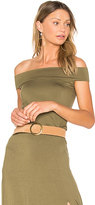 Clayton Anais Top in Olive. - size L (also in M,S,XS)
