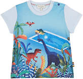 Paul Smith Dinosaurs At The Pool Cotton T-Shirt