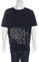 Lanvin Walking Print T-Shirt