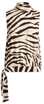 Ralph Lauren Print Jersey Sleeveless Top