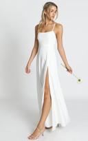 Showpo Will It Be Us Dress in white - 8 (S) Bridesmaid
