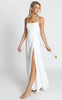 Showpo Will It Be Us Dress in white - 6 (XS) Bridesmaid